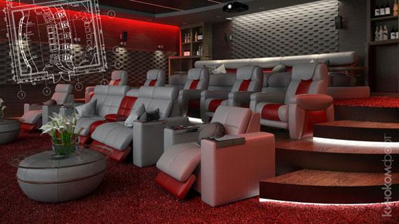 Home or cinema
